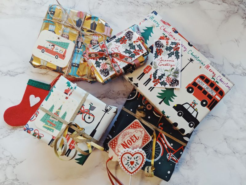 Christmas wrapping from Paperchase