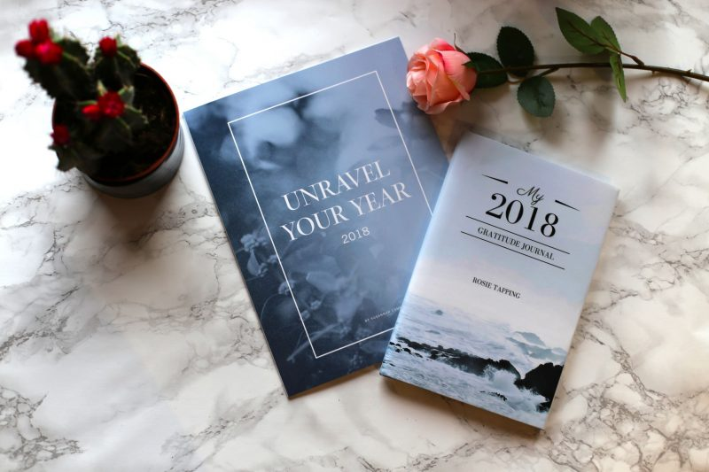 Gratitude journal and unravel your year