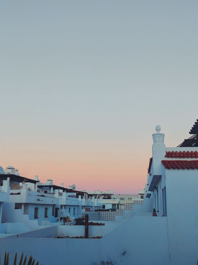 Sunset over Corralejo