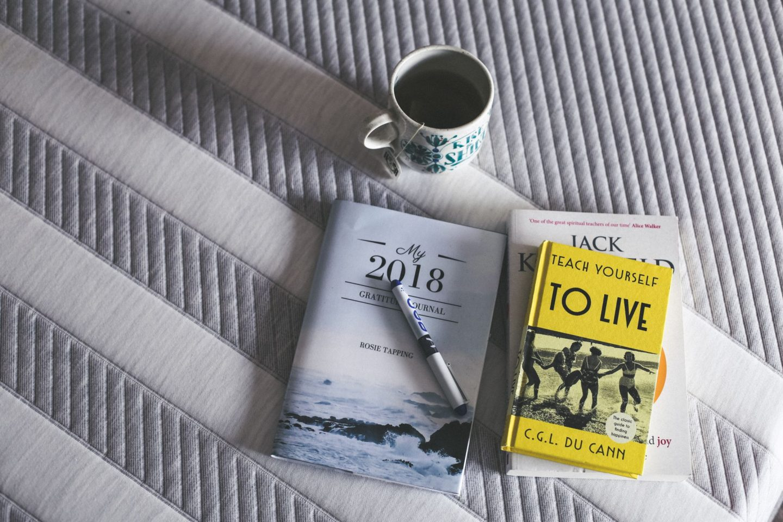 Leesa mattress and book