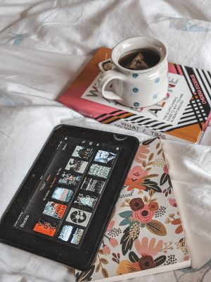 kindle tea and books