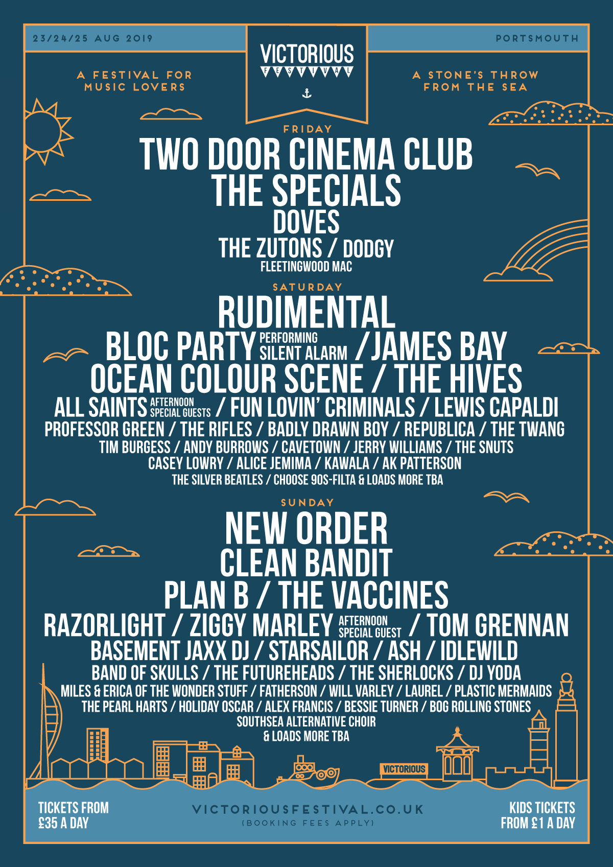 Victorious Festival 2019 lineup