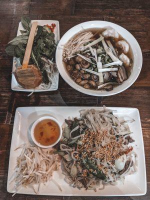 pho noodle soup Gunwharf Quays