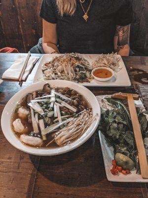 pho vietnamese food gunwharf