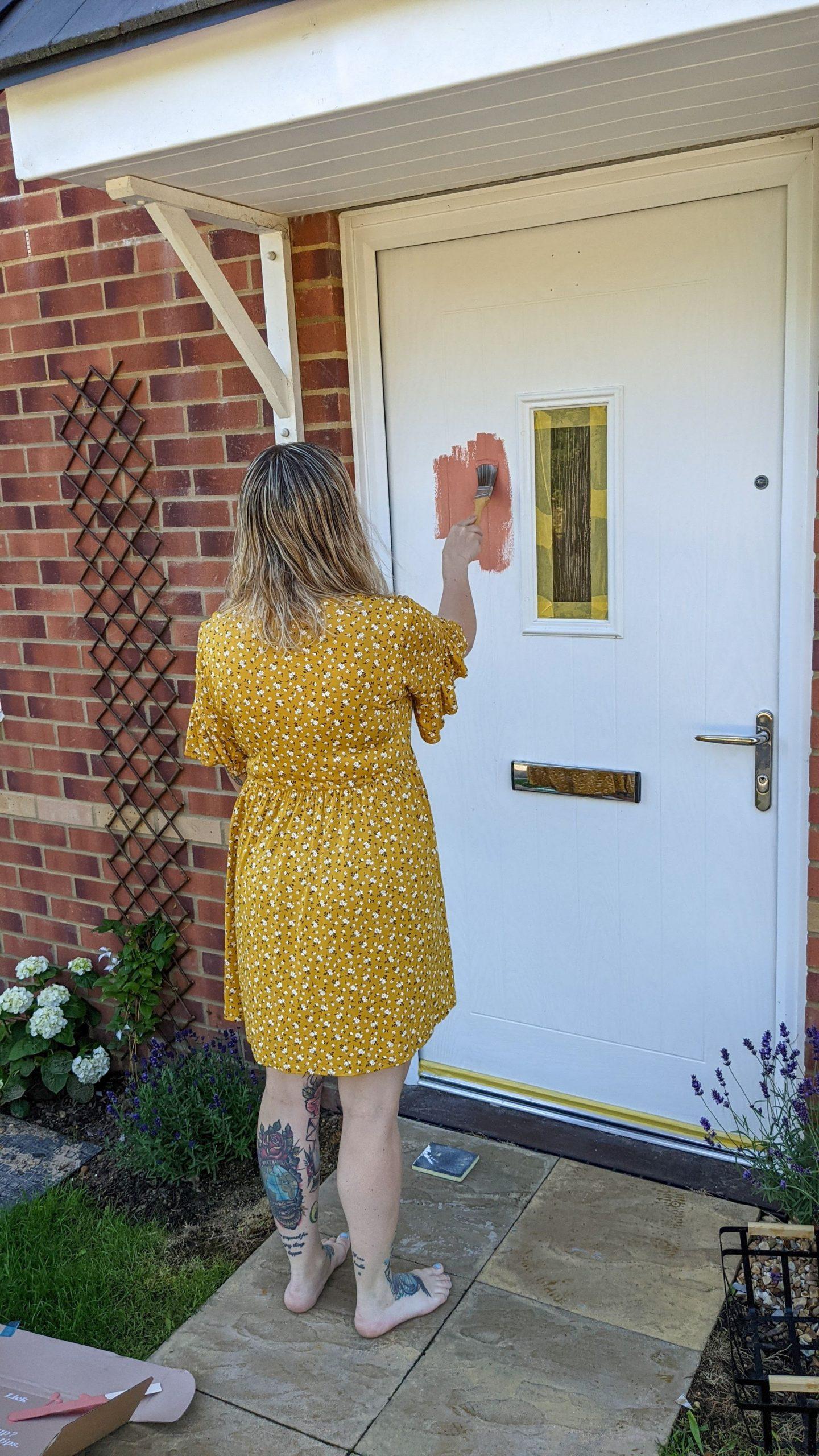 painting a upvc front door